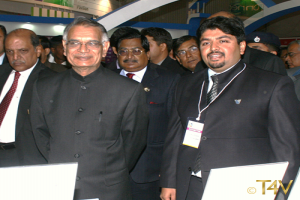 Mr. Sunil Nihal Duggal with former Governer and Home Minister Sh. Shivraj Patel - 2009