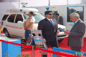Mr. Sunil Nihal Duggal, with PSO's and Award winning MSU Display, 2009